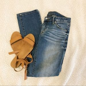 Mossimo Blue Straight Leg Jeans